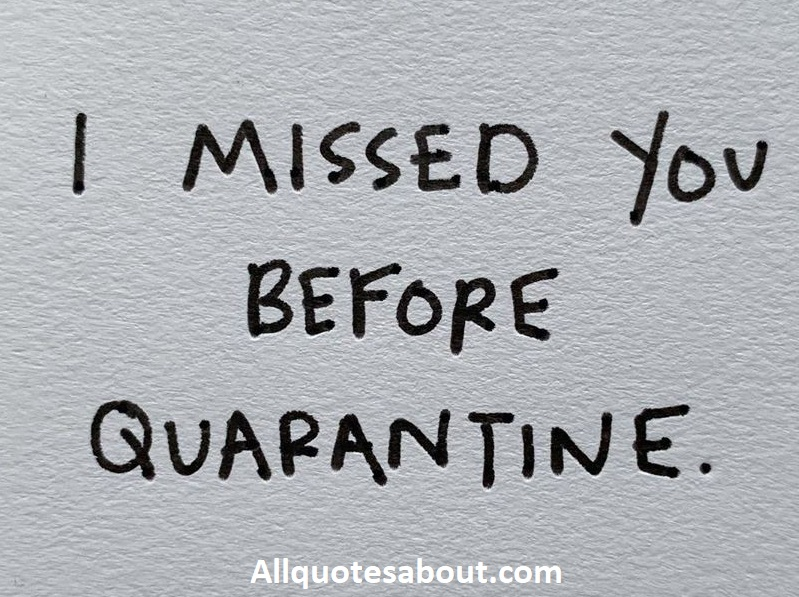 Quarantine Quotes